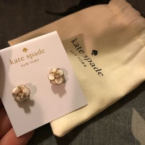 NWT Kate Spade Floral Studs